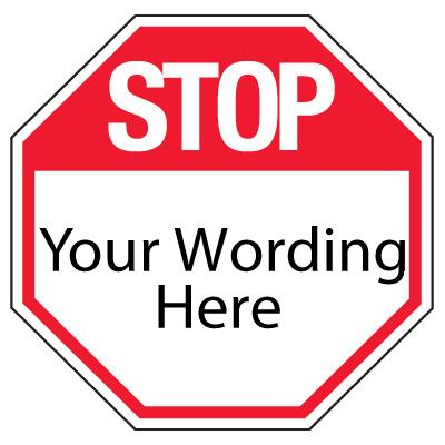 400x400 Standard Stop Sign