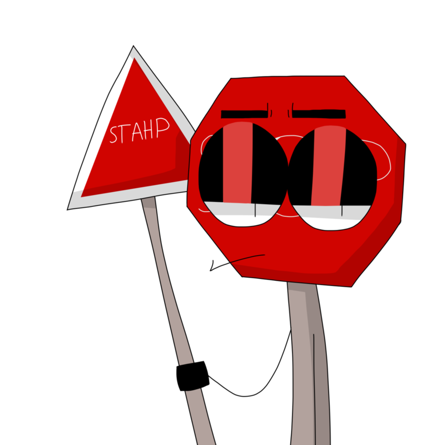 894x894 Stop Sign Tells You To Stop By Unluckii Yarn