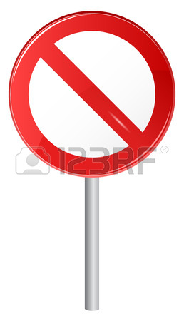 258x450 Illustration Of Stop Sign, Red Grungy Stamp Royalty Free Cliparts