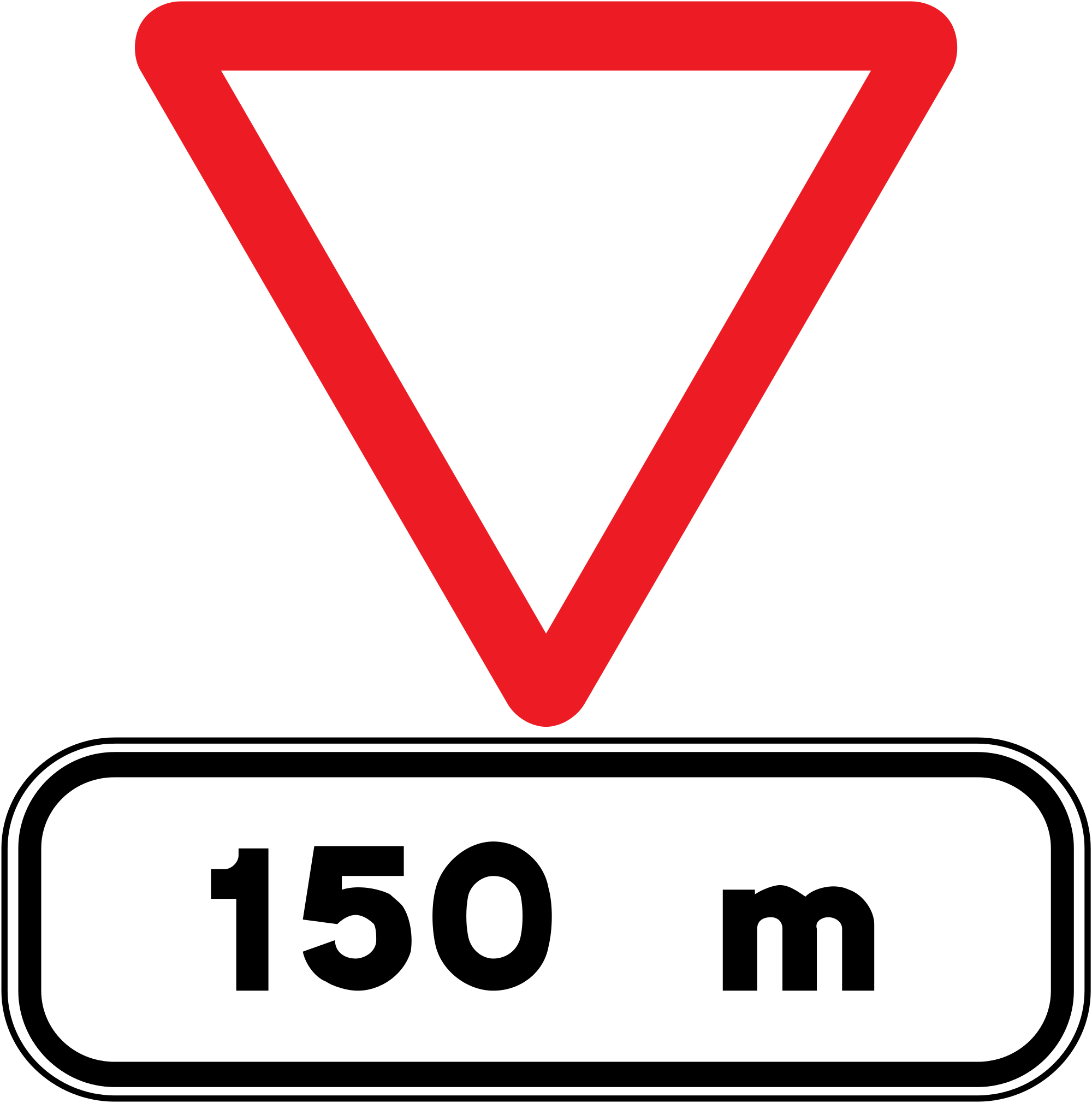 2000x2020 Stop Sign On Pole Transparent Png