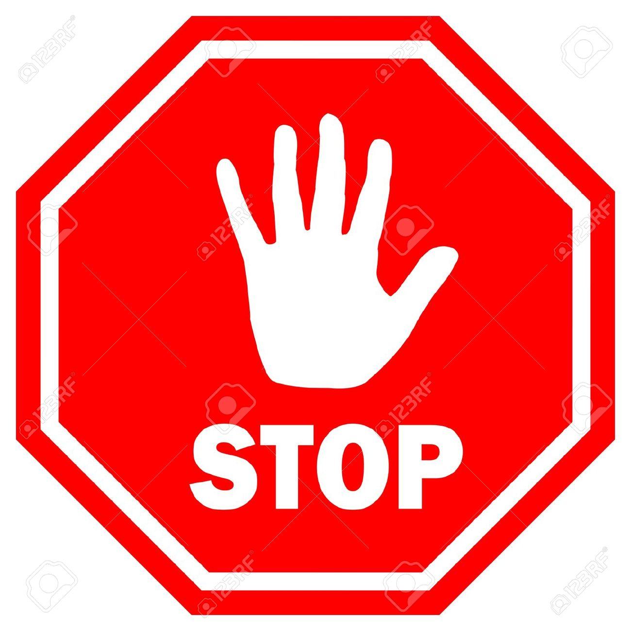 1300x1300 Stop Sign Clipart Images 5