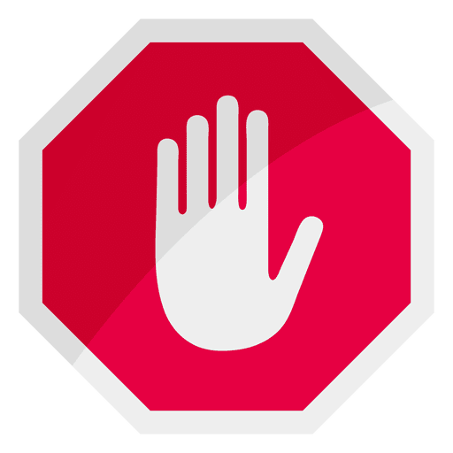 512x512 Stop Sign Icon Hand