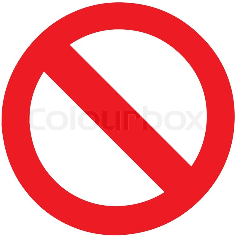 800x800 The Empty Vector Of Stop Sign Symbol Zone For Add Any Forbidden