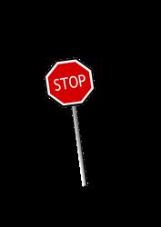 177x250 Wait! Free Stop Sign Clip Art