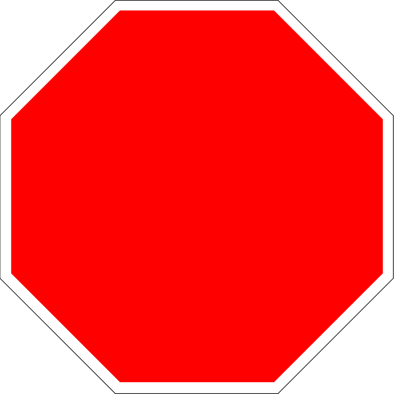 768x768 Fileblank Stop Sign Octagon.svg