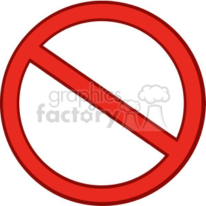300x300 Royalty Free Clipart Of Red Stop Sign 386900 Vector Clip Art Image