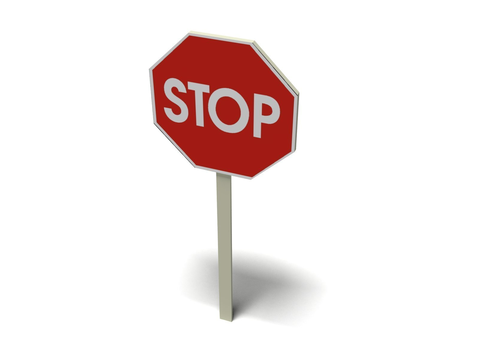1600x1200 Stop Sign 1 Vector Clip Art