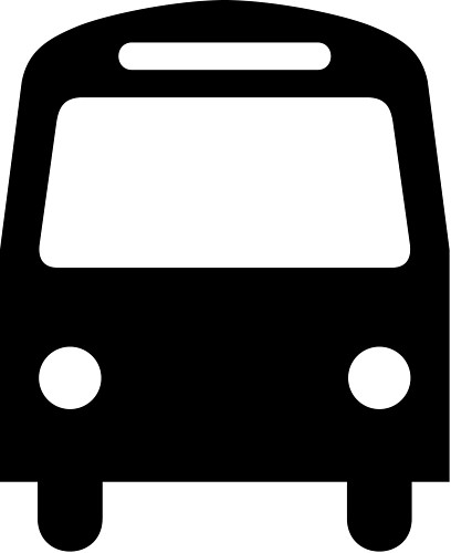 408x500 Bus Stop Sign Clip Art