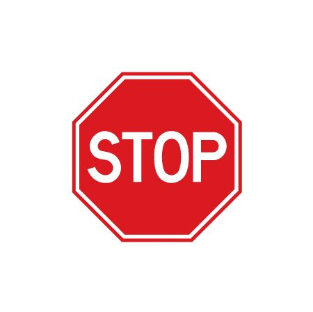 450x448 Buy Our Plastic Stop Sign