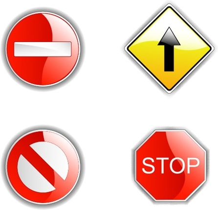446x430 Stop Sign Free Vector Download (7,089 Free Vector) For Commercial