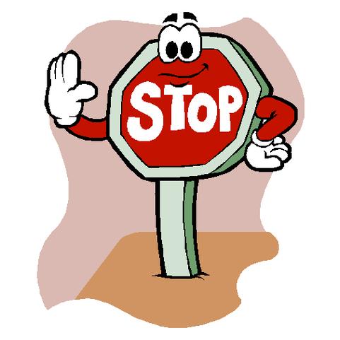 481x481 Stop Signs Clip Art 2