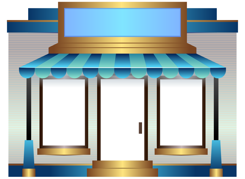 999x732 Shop Clipart Shop Front