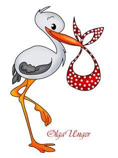 236x315 Stork Amp Baby Clipart