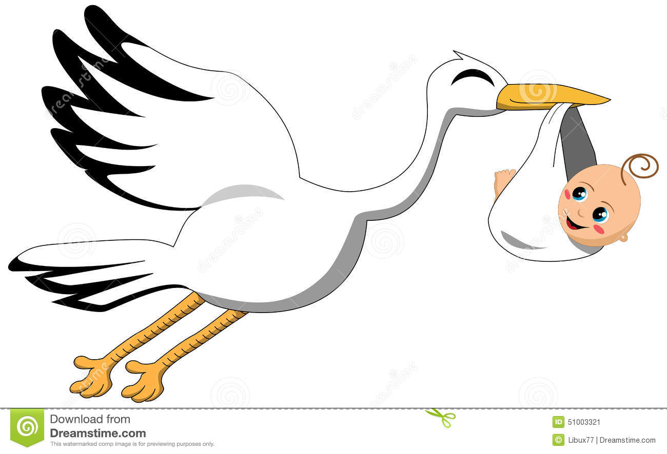 1300x886 Stork Clipart Delivers Baby