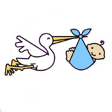 380x380 Image Of Baby Clipart Stork