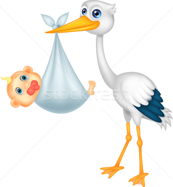 556x600 Stork Baby Stock Photos, Stock Images And Vectors Stockfresh