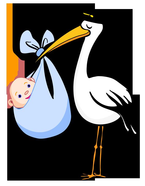 562x720 Best Baby Clipart Stork