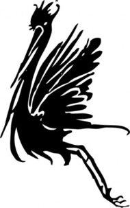 190x303 Stork Clip Art Clip Arts, Free Clipart
