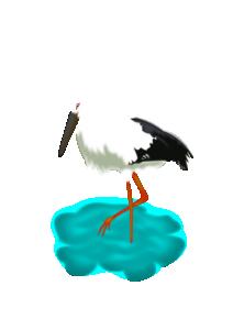 212x300 Stork Clip Art Download