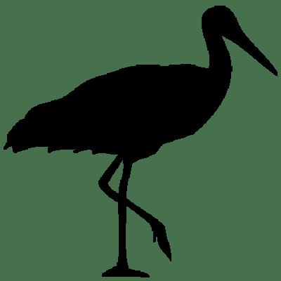 400x400 Stork Clipart Transparent Png
