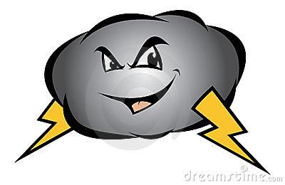 400x260 Storm Clipart Storm Cloud
