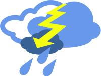 200x151 Free Lightning Clipart