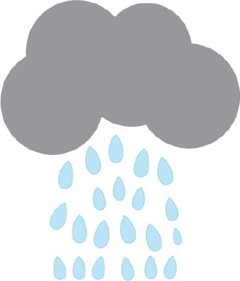 340x397 Rain Cloud Storm Clipart Image Cartoon Cloud