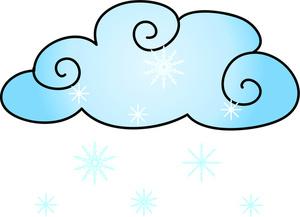 300x217 Snow Clipart Image