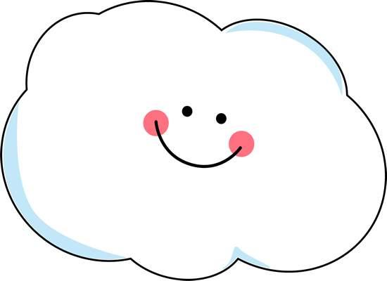 550x400 Clip Art Cloud Clipart