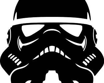 340x270 Star Wars Stormtrooper Vinyl Decal Sticker