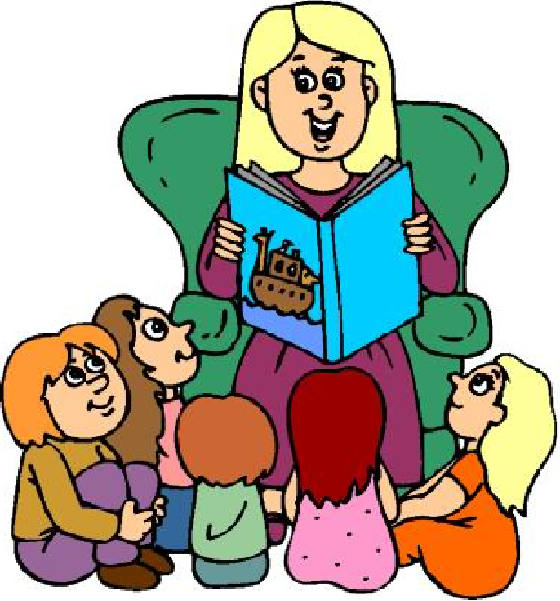 Storytime Clipart