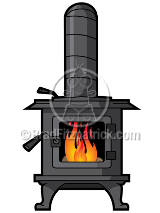 324x432 Cartoon Wood Stove Clip Art Wood Stove Clipart Graphics Vector