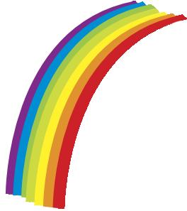 264x297 Rainbow Clip Art