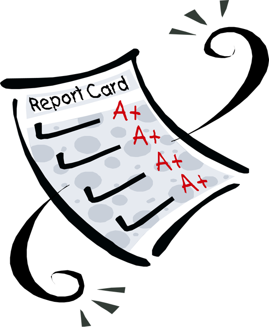 555x675 Report Card Clipart