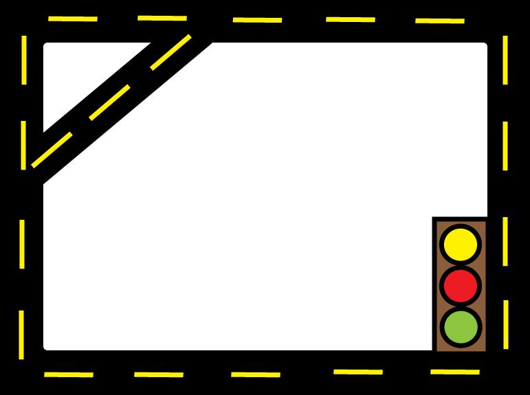 771x575 Road Border Clip Art