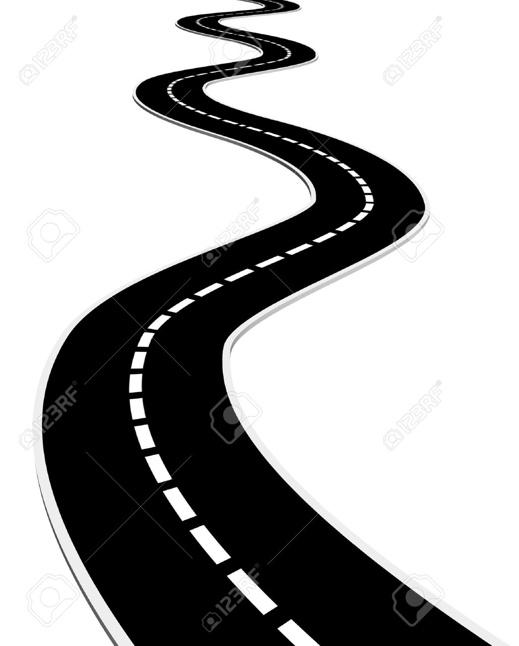 1046x1300 Road Clipart Black And White