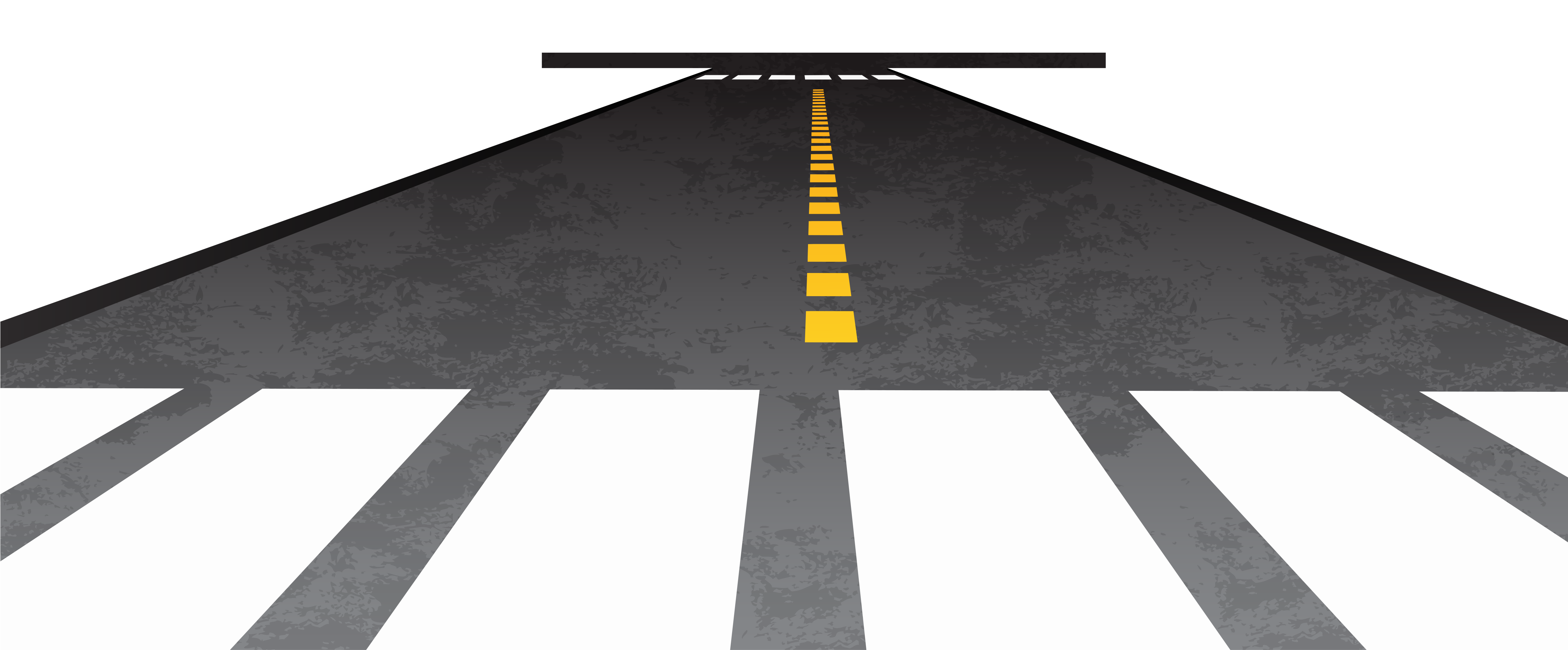 5001x2074 Straight Road Clip Art Clipart