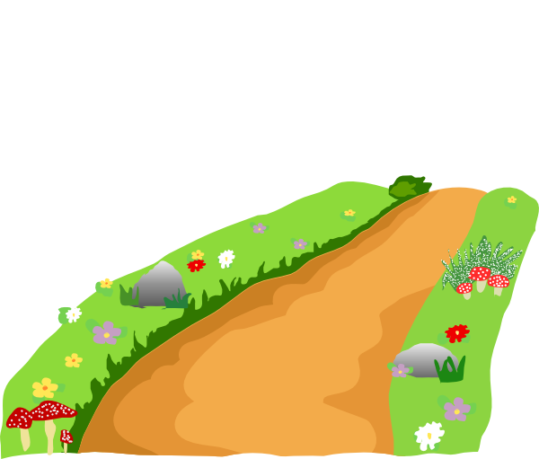 600x511 Dirt Road Clipart