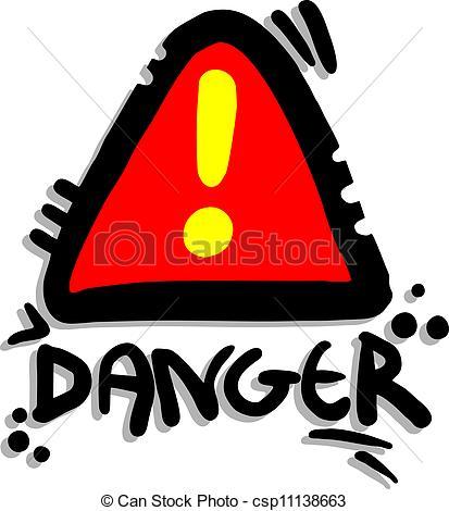 413x470 Danger Clipart