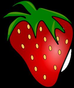 252x298 Red Delicious Strawberry Clip Art