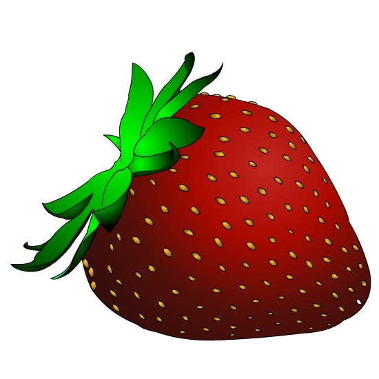 550x550 Strawberry Clip Art Free Clipart Images 5