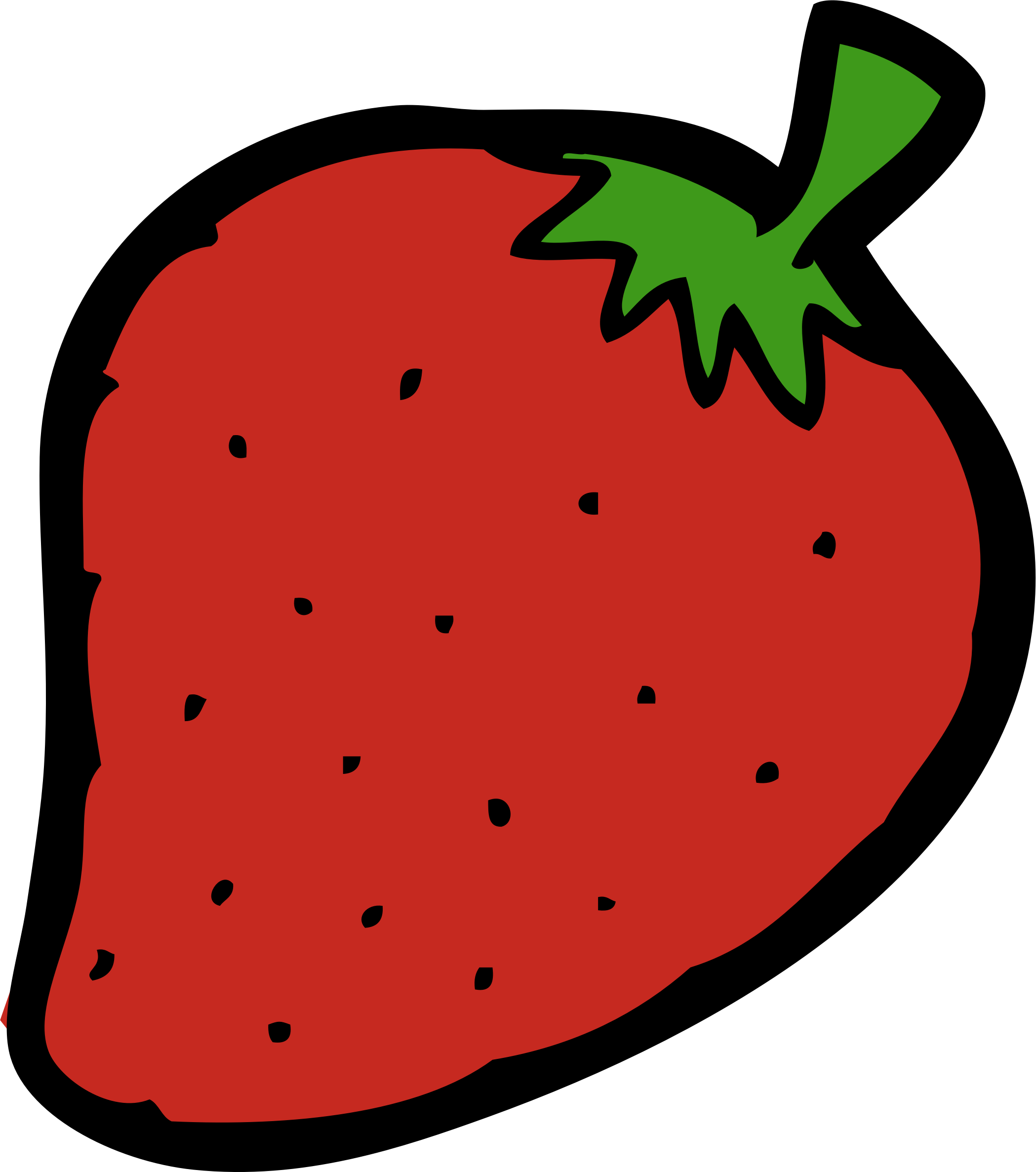 2098x2373 Strawberry Free To Use Clipart