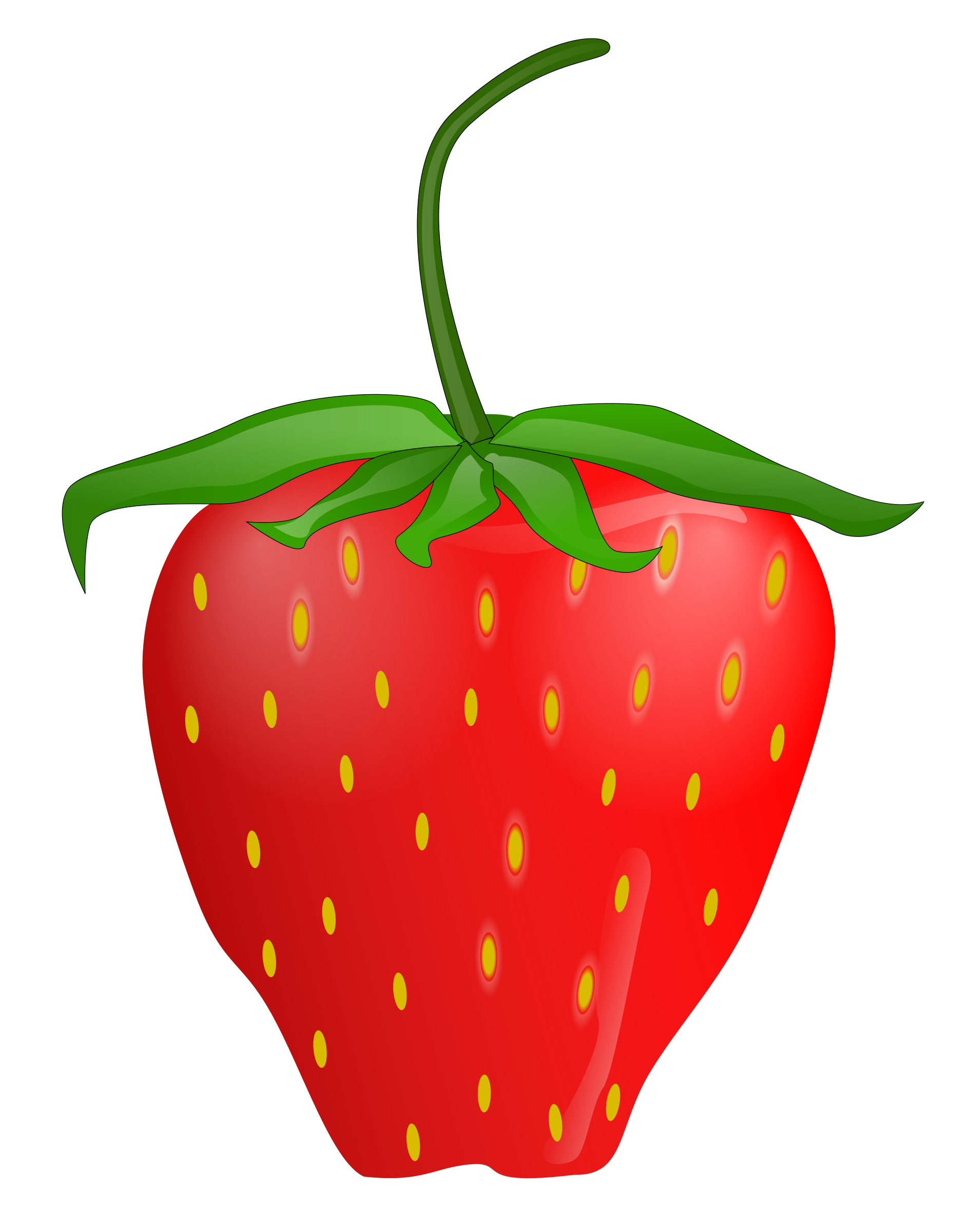1890x2400 Strawberry Art Strawberry Clip Clipart Panda