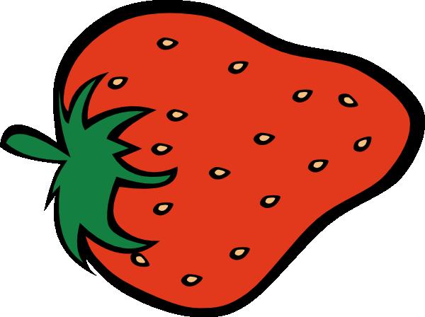 600x448 Strawberry Clip Art