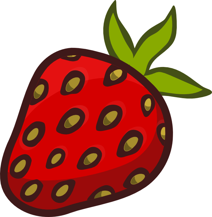 685x703 Strawberry Clipart Strawberry Fruit Clip Art Clipartandscrap