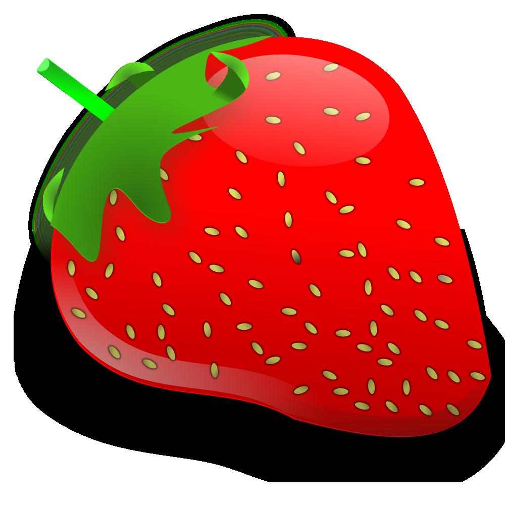 1000x1000 Strawberry. Flag This Clip Art Clipart Panda