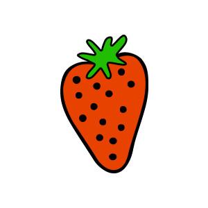 300x300 Free Strawberry Clipart Fruit Clip Art 2