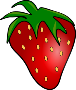 252x298 Strawberry Clip Art Free Clipart Images 2