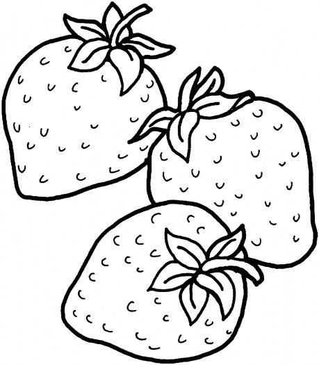 459x525 Drawn Strawberry Black And White