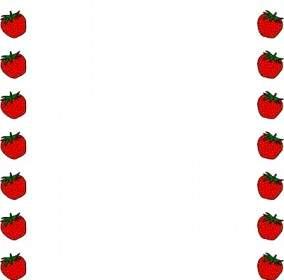 284x280 Strawberry Clip Art Vector Clip Art Free Vector Free Download